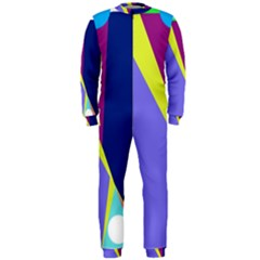 Geometrical abstraction OnePiece Jumpsuit (Men)
