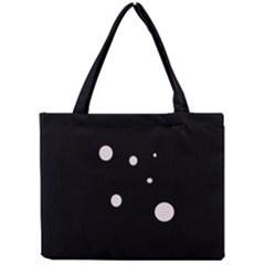 White dots Mini Tote Bag