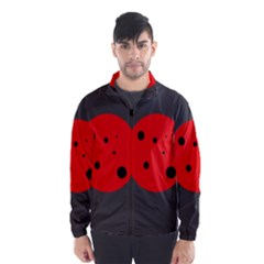 Red circle Wind Breaker (Men)