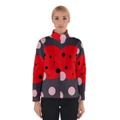 Red And Pink Dots Winterwear