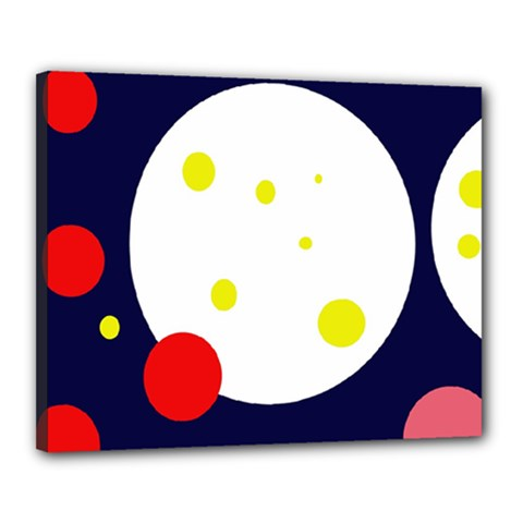 Abstract moon Canvas 20  x 16
