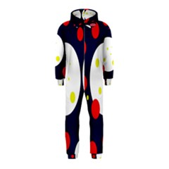 Abstract moon Hooded Jumpsuit (Kids)