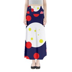 Abstract moon Maxi Skirts