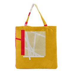 Basketball Grocery Tote Bag