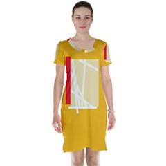 Basketball Short Sleeve Nightdress