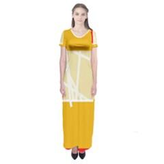 Basketball Short Sleeve Maxi Dress