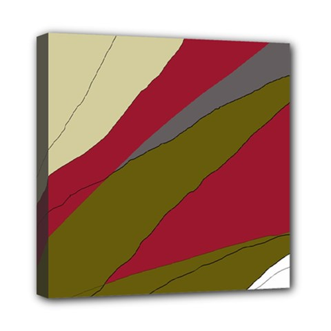 Decoratve abstraction Mini Canvas 8  x 8