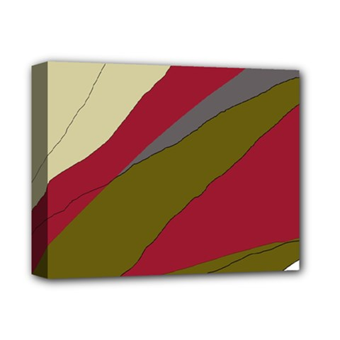 Decoratve abstraction Deluxe Canvas 14  x 11