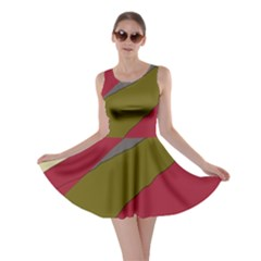 Decoratve abstraction Skater Dress