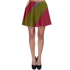 Decoratve abstraction Skater Skirt
