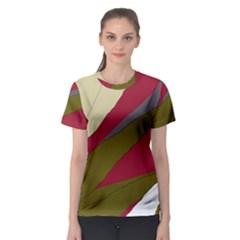 Decoratve abstraction Women s Sport Mesh Tee