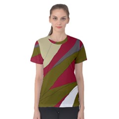Decoratve abstraction Women s Cotton Tee