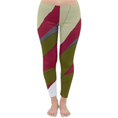 Decoratve abstraction Winter Leggings