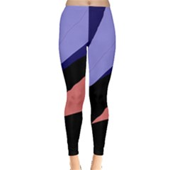 Purple and pink abstraction Leggings