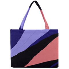 Purple and pink abstraction Mini Tote Bag