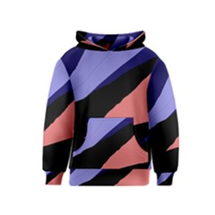 Purple and pink abstraction Kids  Pullover Hoodie