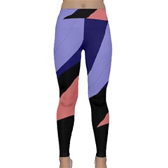 Purple and pink abstraction Yoga Leggings