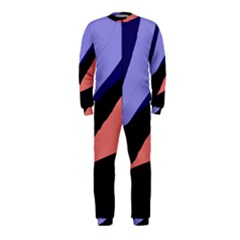 Purple and pink abstraction OnePiece Jumpsuit (Kids)