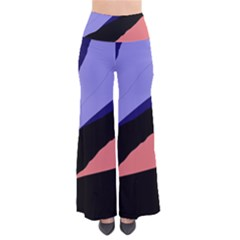 Purple and pink abstraction Pants