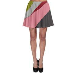 Colorful abstraction Skater Skirt