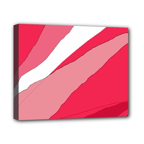 Pink abstraction Canvas 10  x 8