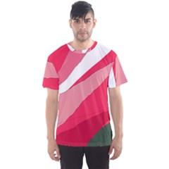 Pink abstraction Men s Sport Mesh Tee
