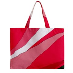 Pink abstraction Zipper Mini Tote Bag