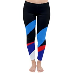 Colorful abstraction Winter Leggings