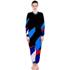 Colorful abstraction OnePiece Jumpsuit (Ladies)