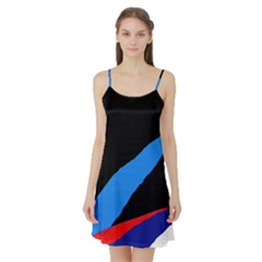 Colorful abstraction Satin Night Slip