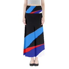 Colorful abstraction Maxi Skirts
