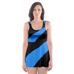 Colorful Abstraction Skater Dress Swimsuit