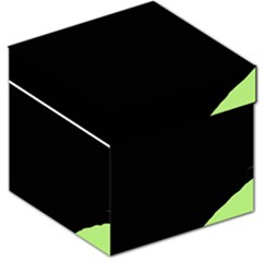Green ball Storage Stool 12