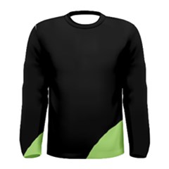 Green ball Men s Long Sleeve Tee