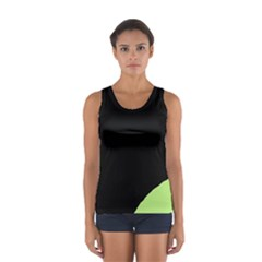 Green ball Women s Sport Tank Top