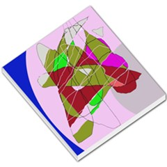 Flora abstraction Small Memo Pads