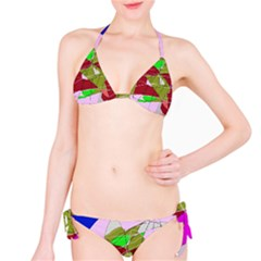 Flora abstraction Bikini Set