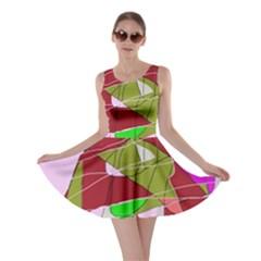 Flora abstraction Skater Dress