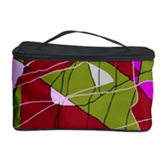 Flora abstraction Cosmetic Storage Case