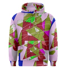Flora abstraction Men s Pullover Hoodie