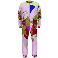 Flora abstraction OnePiece Jumpsuit (Men)
