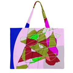 Flora abstraction Large Tote Bag