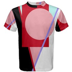 Decorative geomeric abstraction Men s Cotton Tee
