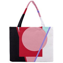 Decorative geomeric abstraction Mini Tote Bag