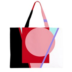Decorative geomeric abstraction Large Tote Bag