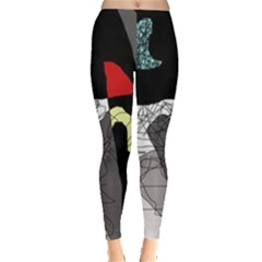 Decorative abstraction Leggings