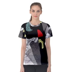 Decorative abstraction Women s Sport Mesh Tee