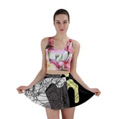Decorative abstraction Mini Skirt