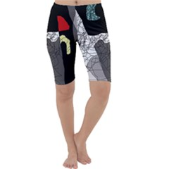 Decorative abstraction Cropped Leggings