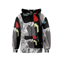 Decorative abstraction Kids  Zipper Hoodie